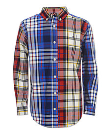 Tommy Hilfiger Toddler Boys Raymond Plaid Cotton Shirt