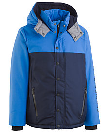 Calvin Klein Toddler Boys Peak Tech Colorblocked Hooded Jacket