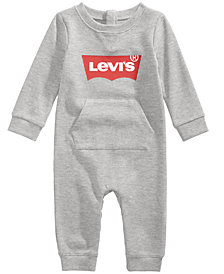 Levi's® Baby Boys & Girls Thermal Logo-Graphic Coverall