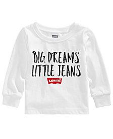 Levi's® Baby Boys Logo-Print Cotton T-Shirt