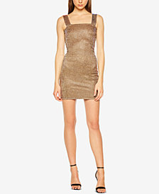 Bardot Mimi Glitter Sheath Dress