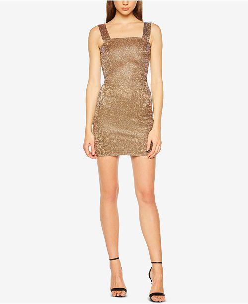 79415504b3ff Bardot Mimi Glitter Sheath Dress   Reviews - Dresses - Women - Macy s