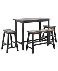 Ronin 4-Pc. Set Pub Table
