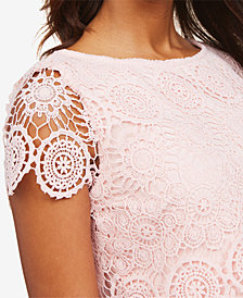 Motherhood Maternity Lace Top