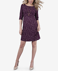 Seraphine Maternity Printed Babydoll Dress