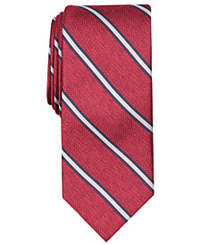 Tallia Men's Beldon Stripe Slim Tie