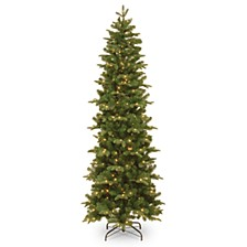 6 .5' Feel Real  Prescott Pencil Slim Hinged Tree with 300 Clear Lights