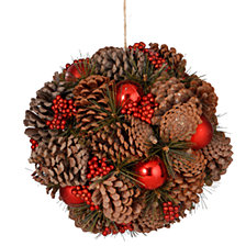 "National Tree 12"" Pinecone Hanging Ball"