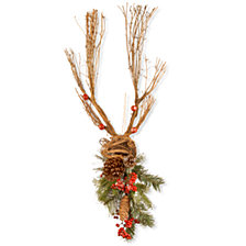 "National Tree 35"" Christmas Deer Decoration"