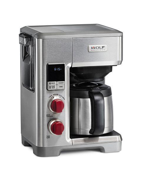 Wolf Gourmet Automatic Drip Coffee Maker Tea Espresso Kitchen Macy S