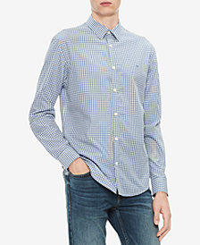 Calvin Klein's Men's Cotton Cashmere Blend Shirt
