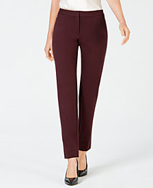 Alfani Zip-Pocket Skinny Pants, Created for Macy's