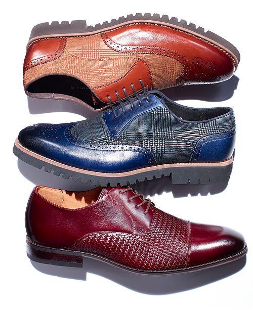 1e9fd4702967 Stacy Adams Men s Baxley Wingtip Oxfords   Reviews - All Men s Shoes ...