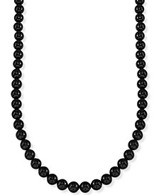 "Onyx (8mm) 30"" Necklace, Created for Macy's"