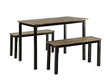 Boltzero Dining Table With Benches