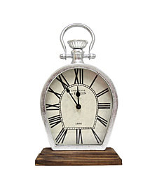 Stratton Home Decor Figaro Table Top Clock