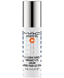 Lightful C + Coral Grass Vibrancy Eye Cream, 0.5-oz.