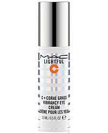 MAC Lightful C + Coral Grass Vibrancy Eye Cream, 0.5 fl. oz.