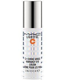 MAC Lightful C + Coral Grass Vibrancy Eye Cream, 0.5 fl. oz.