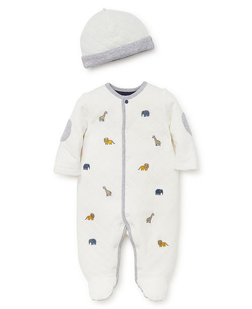 85561ea96 Little Me Baby Boy Jungle Fun Footie and Hat & Reviews - All Baby ...