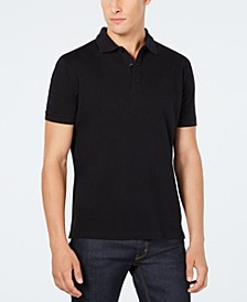 Men's Solid Knit Polo