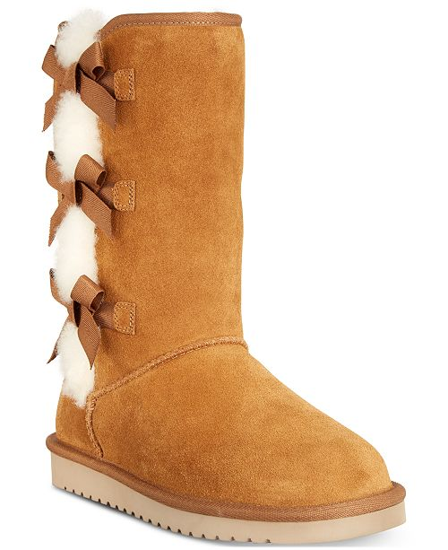 Koolaburra By UGG Women's Victoria Boots & Reviews - Boots - Shoes - Macy's