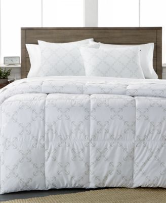 CLOSEOUT! Tommy Hilfiger Anchor Lattice Full/Queen Comforter