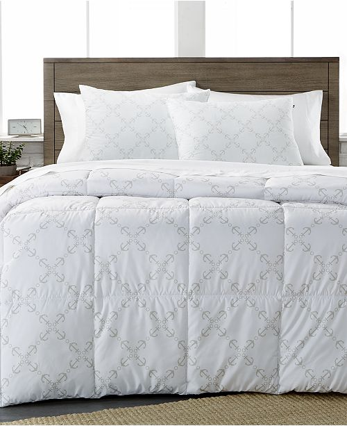 Tommy Hilfiger Home CLOSEOUT! Tommy Hilfiger Anchor Lattice Comforter Collection