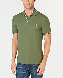 Original Penguin Men's Slim Fit Tipped Polo, Created for Macy's