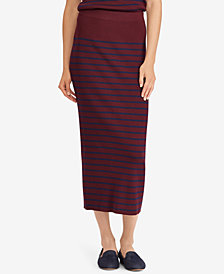 Lauren Ralph Lauren Striped Knit Skirt