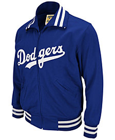 Mitchell & Ness Men's Los Angeles Dodgers Authentic Full-Zip BP Jacket