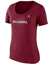 Nike Women's Oklahoma Sooners Sideline Scoop T-Shirt 2018