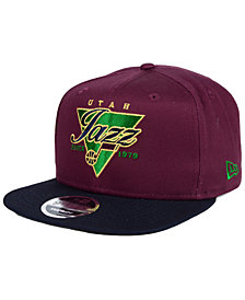 New Era Utah Jazz 90s Throwback 9FIFTY Snapback Cap