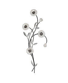 Tysonn Floral Metal Wall Art