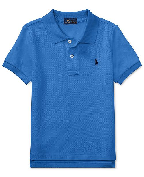 15da28e3131c Polo Ralph Lauren Toddler Boys Pique Polo & Reviews - Shirts & Tees ...