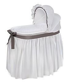 Wishes Oval Bassinet - Full Length Skirt