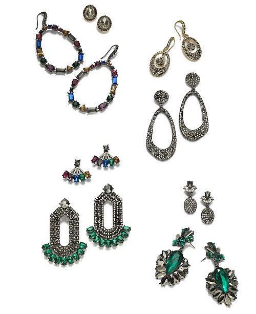 INC International Concepts I.N.C. Earring Sets & Watch Collection, Created for Macy's