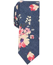 Original Penguin Men's Daffodil Floral Skinny Tie