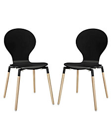 Modway Path Dining Chair Set of 2