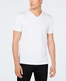 HUGO Men's Stretch V-Neck T-Shirt