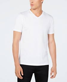 HUGO Men's Stretch V-Neck T-Shirt