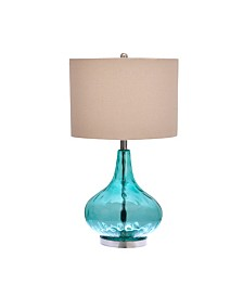 Jasmine Blue Table Lamp