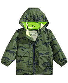 Carter's Baby Boys Hooded Printed Raincoat