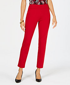 Kasper Pull-On Ponte Pants