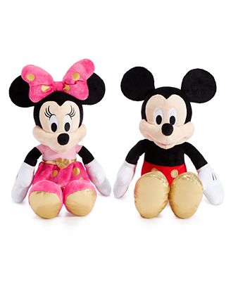 Disney Minnie Mouse Mickey Mouse Plush Dolls Sets Outfits