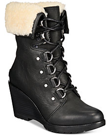 Sorel After Hours Lace-Up Boots