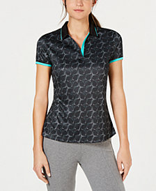 PGA TOUR Kinetick Printed Golf Polo
