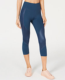 Calvin Klein Performance Liquid Shine High-Waist Cropped Leggings