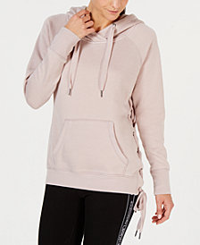Calvin Klein Performance Lace-Up Side Hoodie