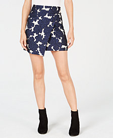 Maison Jules Floral-Print A-Line Skirt, Created for Macy's